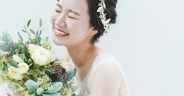 ブライダルフォトでの花嫁のイメージ